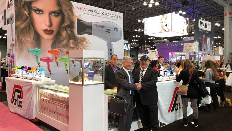 Los secadores de pelo de Parlux se ganan al público del iBS Trade Fair 2108 en Nueva York