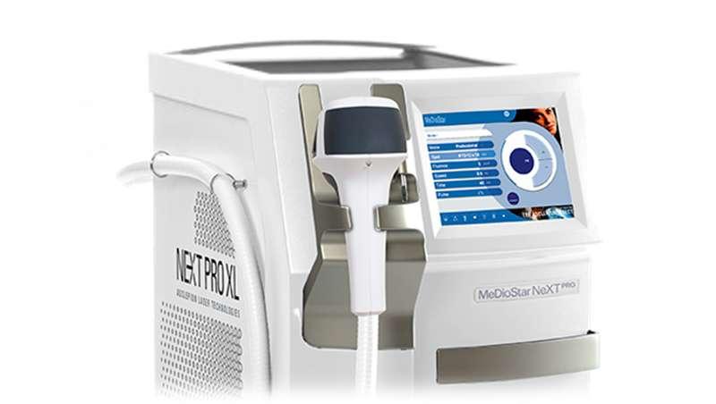 Láser de alta potencia para cinco tratamientos en un mismo equipo, Mediostar Next Pro