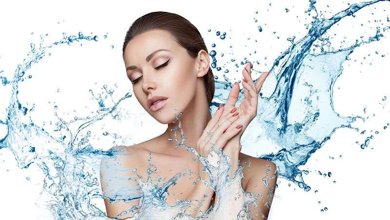 Agua - Hidratar la piel