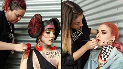 Cazcarra Image Group crea maquillajes espectaculares para el Gran Premio de España Emirates 2018