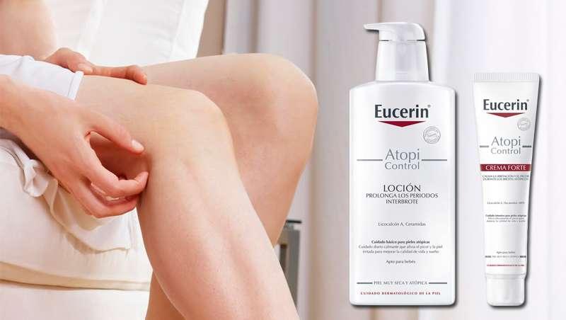Eucerin relanza su gama AtopiControl para abordar la dermatitis atópica