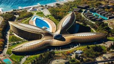 O melhor balneário do mundo está em Crimeia, Mriya Resort & Spa