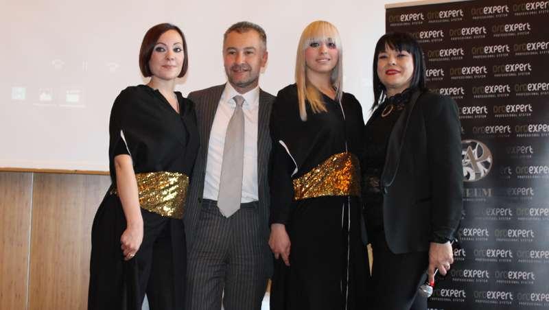 Todas las bondades del oro aplicadas al cabello en el debut de Oro Expert en Barcelona