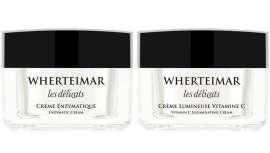 Preparar la piel antes del verano y la exposición solar típica de la estación es un gesto fundamental que Wherteimar completa con dos ases del cuidado de la piel, Crema Enzymatique y Crema Luminosa con Vitamina C