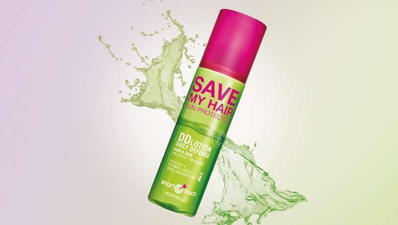 Já chegou Smart Touch Save My Hair, o primeiro protetor 365 dias para cabelo e pele
