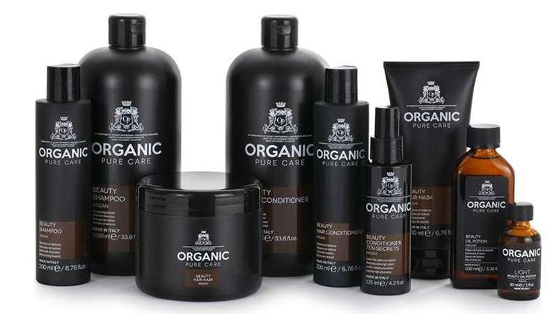 organic pure care shampoo