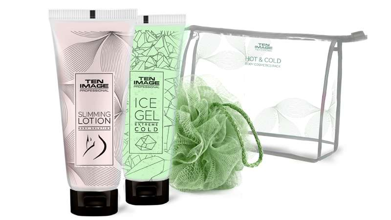 Hot & Cold Body Treatment, pack de cosmética corporal de Ten Image