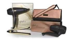 Detalhes dourados e todas as ferramentas para o penteado que possas imaginar estão em Saharan Gold Collection, a nova e exclusiva coleção de edição limitada ghd