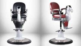 Italor presenta este sillón infantil, de línea vintage, para hacer más divertida la visita de los niños al salón