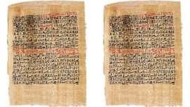 Se remonta a 1500 a. C. El papiro Ebers recoge todos los remedios para el tratamiento de las quemaduras, entre otros muchos para diferentes males, convirtiéndole en precursor de distintas especialidades médicas, incluida la cirugía plástica
