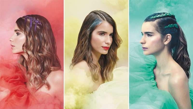 Slash Creative Hair Studio apresenta: novo menu festival 2018  A Pop of Color