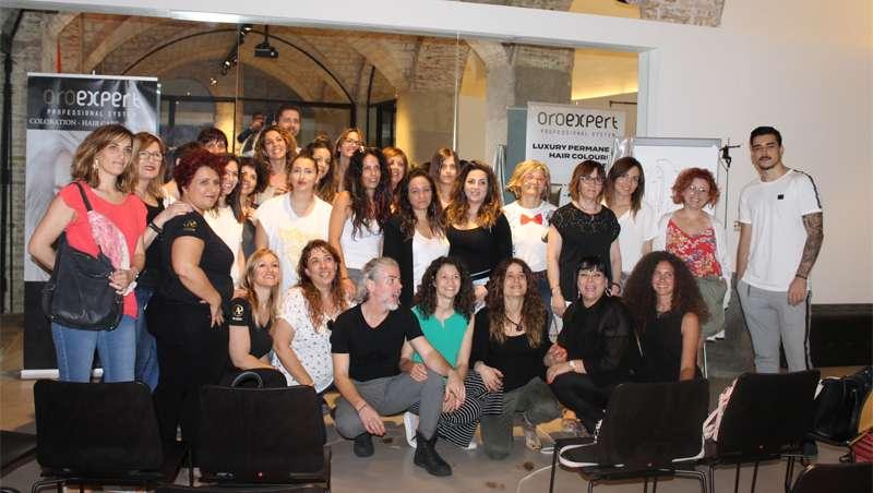 El carisma de Manuel Collado, de Macomaco, aterriza en el Studio Beauty Market