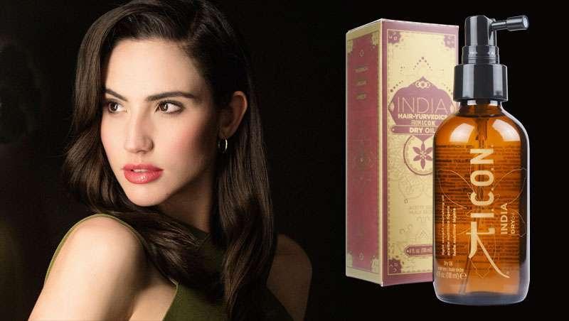 India Dry Oil, uma bruma de luxo e brilho para o cabelo