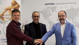 Bernat Domene, titular de la propiedad industrial y la marca Rollaction, masaje fisioactivo, firma un acuerdo de colaboración con Sapphire, famosa por sus láseres para depilación y otras máquinas, para el desarrollo de un proyecto conjunto