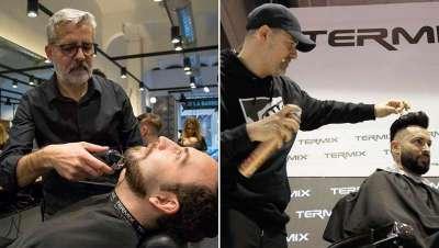 Los mejores barberos del país valoran las herramientas Termix