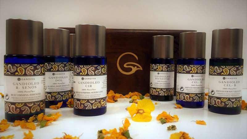 Gandioleos, los aceites esenciales de Gandiva que subliman la belleza