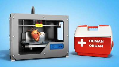 Entrenamiento del cirujano con partes del cuerpo impresas en 3D