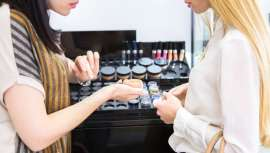 Las exportaciones europeas de productos cosméticos fueron de 20.200 millones de euros, con los productos del cuidado de la piel en primera posición