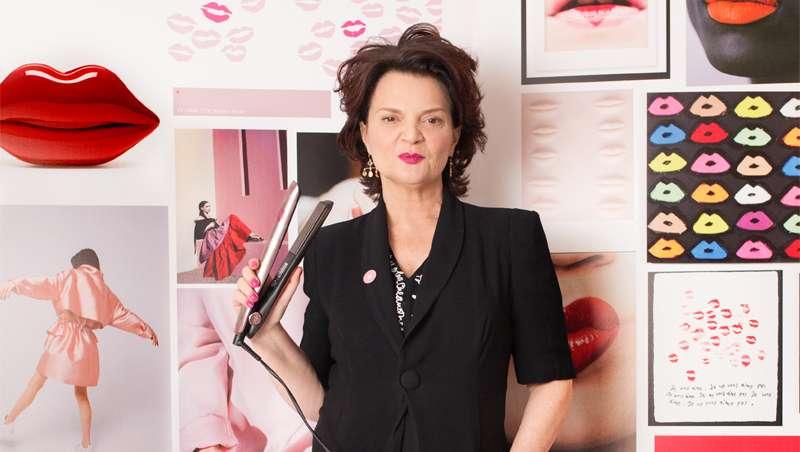 Londres se viste de rosa con la nueva GHD pink gold por Lulu Guinness