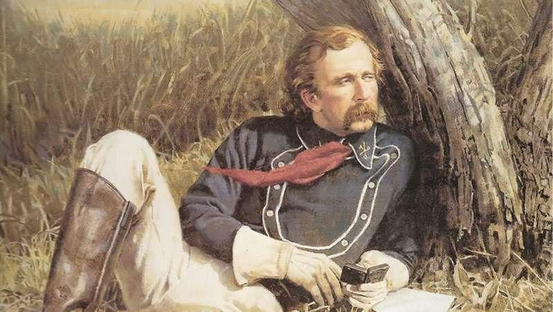 La historia de amor tras el mechón del general Custer