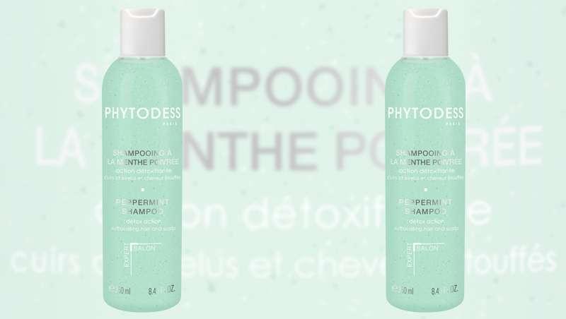Novo champô Phytodess a la Menta, tratamento detox para o cabelo