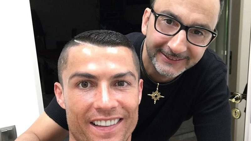 El peluquero de Cristiano se despide, con cariño, del crack portugués