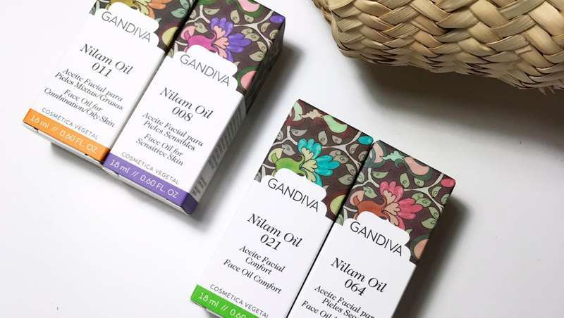 Nilam, os benefícios da cosmética natural Gandiva ao serviço de todo o tipo de pele