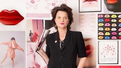 Londres veste-se de rosa com o novo GHD pink gold de Lulu Guinness