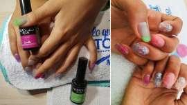 As mil maneiras de ser uma Kardashian neste verão com Masglo e sua manicure mais inovadora, gelatina e translúcida