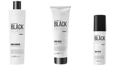 Si el calor te hace daño, elige Black Pepper, protección total para el cabello