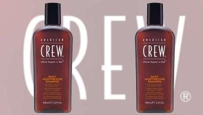 Limpa, refresca e revigora o cabelo e o couro cabeludo com a American Crew