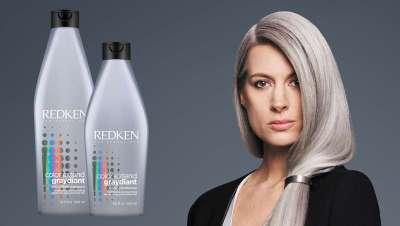 Cuidado prémium de los cabellos grises con Redken Color Extend Graydiant