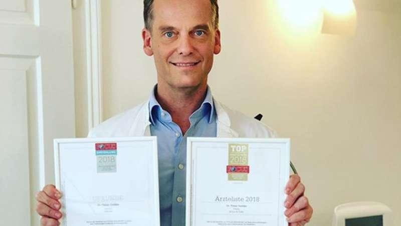 El doctor Golüke, elegido Mejor Dermatólogo alemán