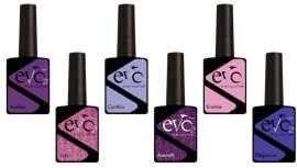 Purples agrupa seis colores que imitan las tendencias que se llevarán esta temporada. Colores brillantes, siendo el éxito de este 2018