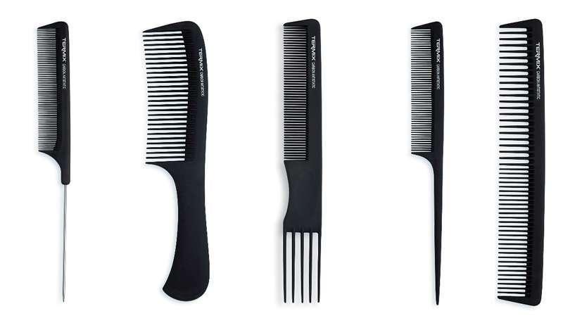 O estilo personalizado vem pela mão da Termix e seus pentes de carbono