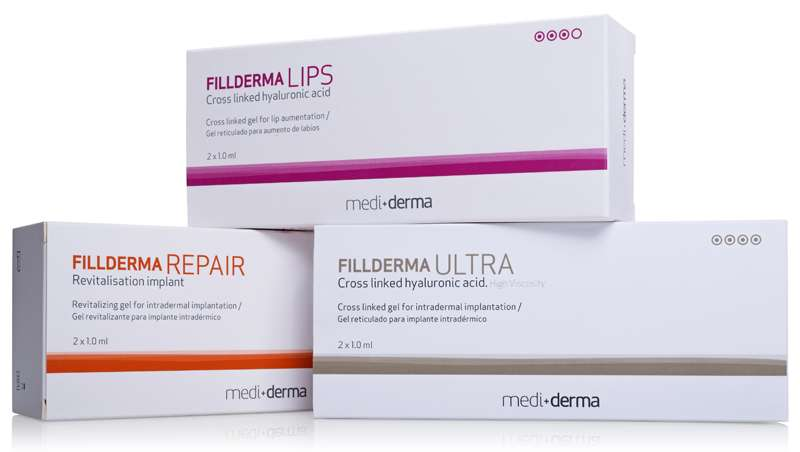 Mediderma presenta sus nuevos rellenos de ácido hialurónico