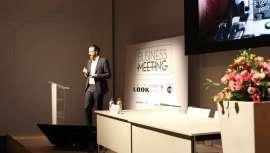 Rubén Sanagustín, de la compañía Sipel, ha ofrecido la conferencia: La empresa familiar, una carrera de relevos, donde ha sugerido las claves para que los relevos generacionales sean más idóneos