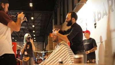Barber's Ring, el cuadrilátero donde los barberos se enfrentan a su propia creatividad