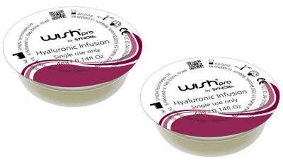 Cápsula Hyaluronic de la línea Infusión de Wishpro: hidratación para la piel