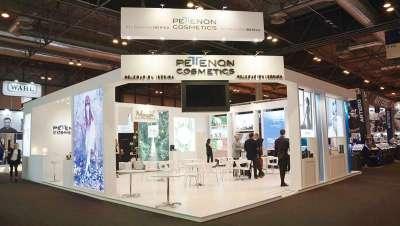 Pettenon Cosmetics Delegación Ibérica, 150 metros de exposición en Salón Look