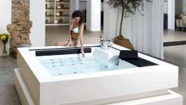Aquavia Spa presenta este spa de lujo, cuyo diseño e ingeniería rozan la perfección. Spa Cube potencia el bienestar físico, mental y emocional a través de los sentidos