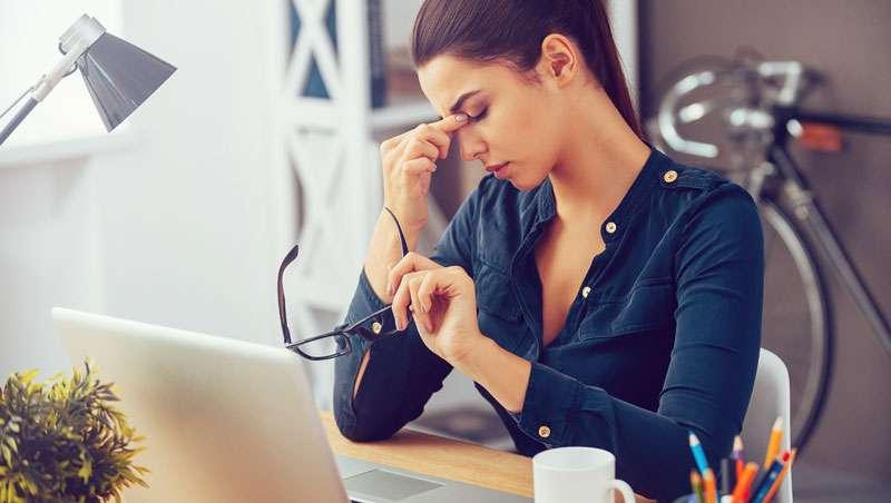 5 signos de estrés en la piel