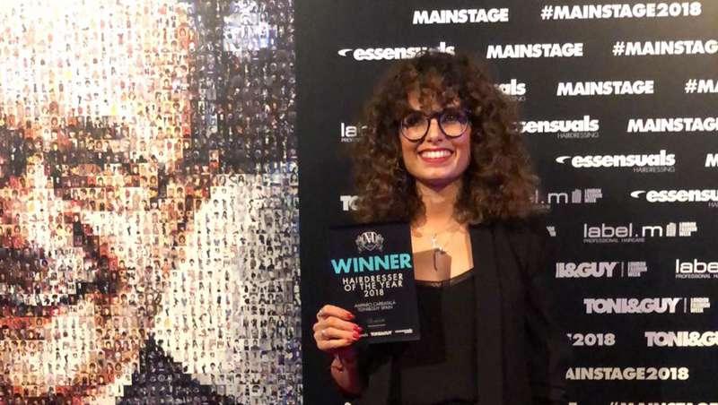 Amparo Carratalá, Toni & Guy Hairdresser of the year 2018
