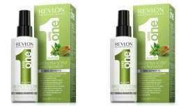 Mascarilla 10 beneficios, que actúa desde el interior para la belleza y salud del cabello, Green Tea de Revlon Professional es además el nuevo aroma de la línea Uniqone, el tercero, junto a los ya clásicos Lotus Flower o Coco