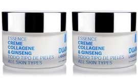 Se trata de una crema facial para todo tipo de pieles, con alto contenido en colágeno hidrolizado que, junto con la elastina que contiene, ayuda a que la piel mantenga la firmeza y elasticidad perdida