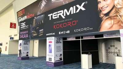Termix deja huella en los certámenes Salón Look Chile y EBS México