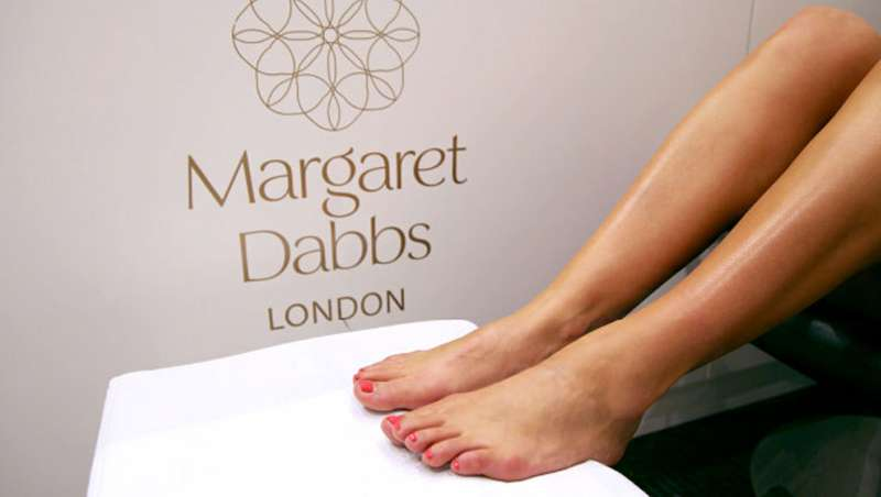 La pedicura de Margaret Dabbs llega a Cosmeceutical Center