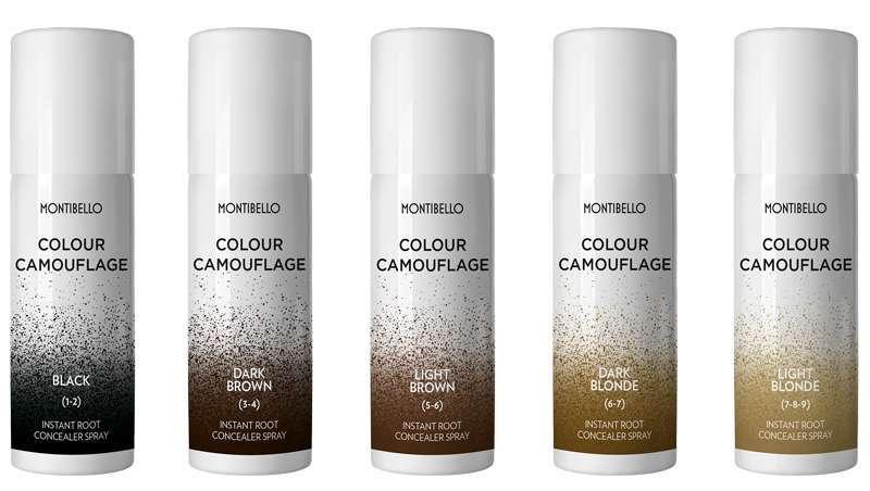 Colour Camuflagem, retoca e dá um acabamento natural ao cabelo
