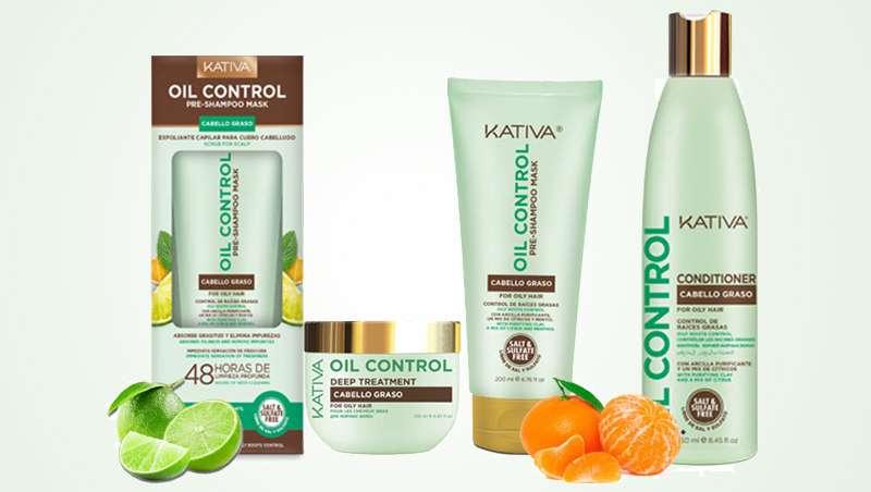 Cabello libre de toxinas durante 48 horas con la gama Oil Control, de Kativa