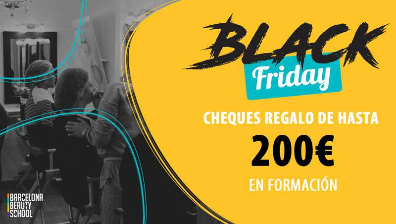 Barcelona Beauty School se suma al Black Friday